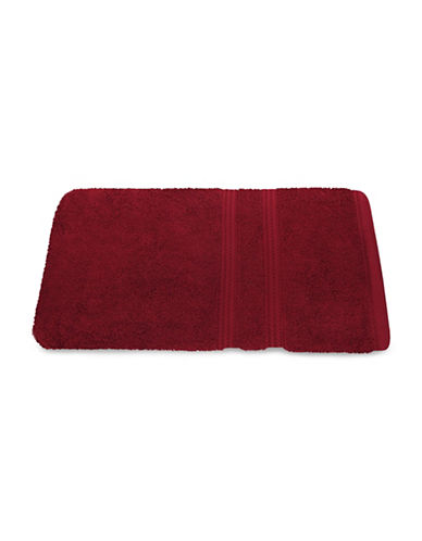 Nautica Seaport Plush Cotton Bath Towel-DEEP RED SEA-Bath Towel