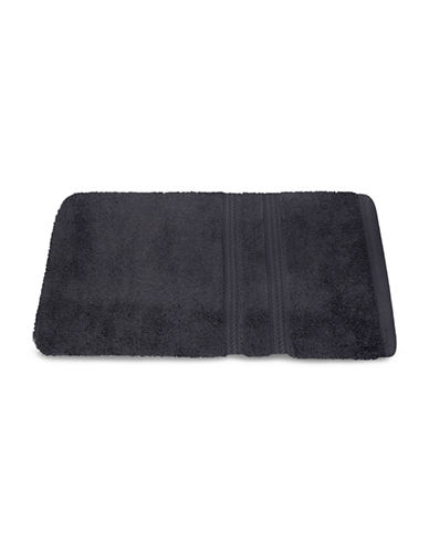 Nautica Seaport Plush Cotton Bath Towel-DREDGE GREY-Bath Towel