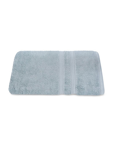 Nautica Seaport Plush Cotton Bath Towel-GAMEFISH GREY-Bath Towel