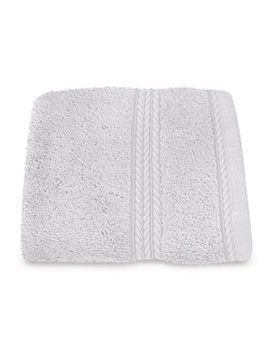 Nautica Seaport Plush Cotton Washcloth-ICE WATER-Washcloth