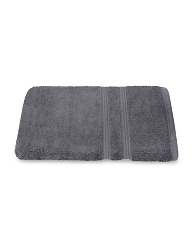 Nautica Seaport Plush Cotton Bath Towel-MOORNINGS GREY-Bath Towel