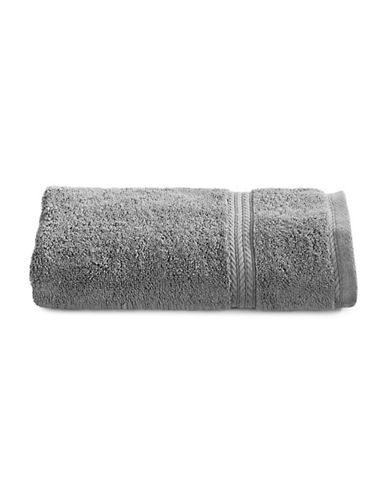 Nautica Seaport Plush Cotton Hand Towel-MOORNINGS GREY-Hand Towel