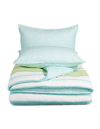 Nautica Taplin Three-Piece Comforter Set-MULTI-Queen