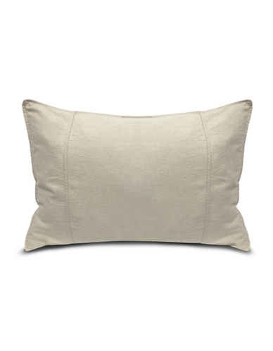 Ed Ellen Degeneres Vintage Washed Cotton Sham-NATURAL-King