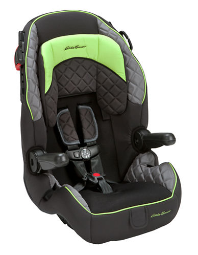 Eddie Bauer Deluxe Harness 65 Booster Car Seat-BLACK-One Size