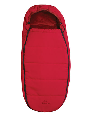 Quinny Red Stroller Footmuff-RED-One Size