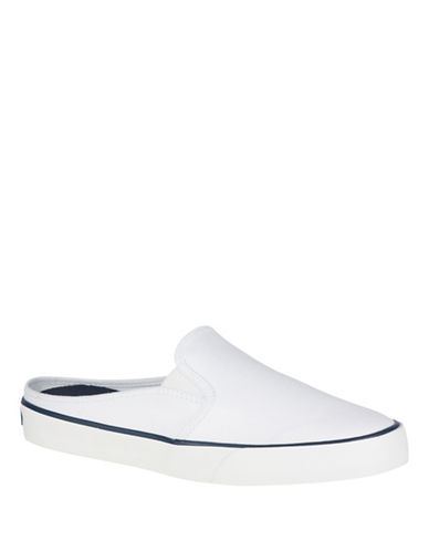 Sperry Pier Randi Sneaker Mules-WHITE-7.5