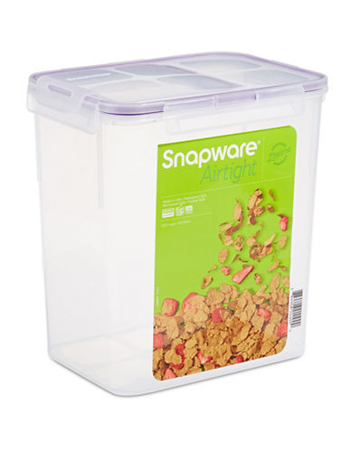Snapware Airtight Leak-Proof 5.4L Container with Lid-CLEAR-One Size