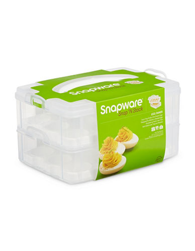 Snapware Snap and Stack Egg-Tainer-CLEAR-One Size
