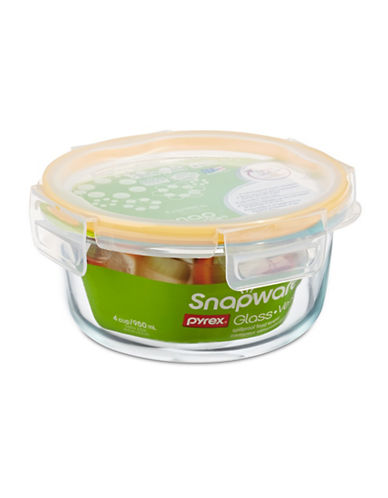 Snapware Glass Container with Lid-CLEAR-One Size