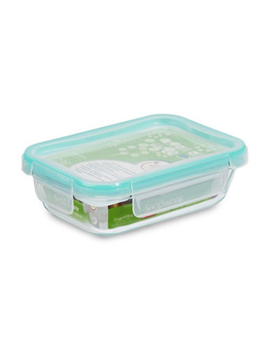 Snapware Spillproof 470ml Glass Food Keeper with Lid-CLEAR-One Size