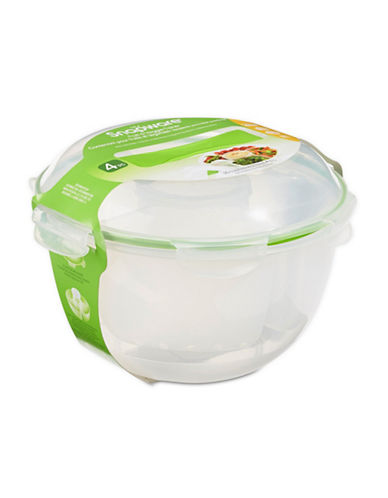 Snapware Veggie and Dip Container-CLEAR-One Size