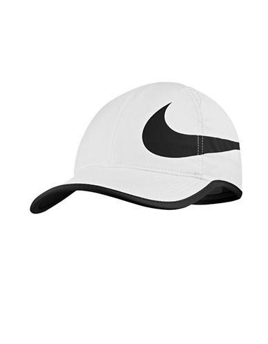 Nike AeroBill Tennis Cap-WHITE-One Size