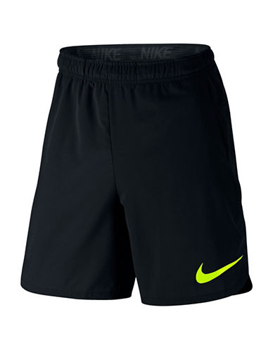 Nike Flex Training Shorts-BLACK-Large