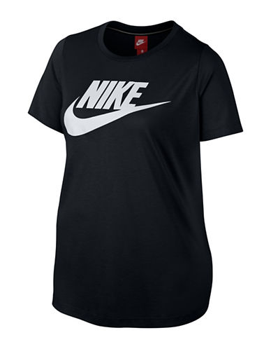 Nike Sportswear Essential T-Shirt-BLACK-2X