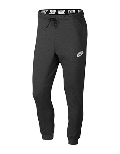 Nike Slim-Fit Fleece Jogger Pants-GREY-Medium 89690870_GREY_Medium