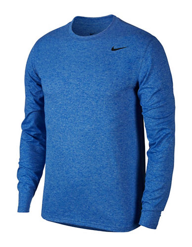 Nike 2.0 Dry Training Top-BLUE-Large