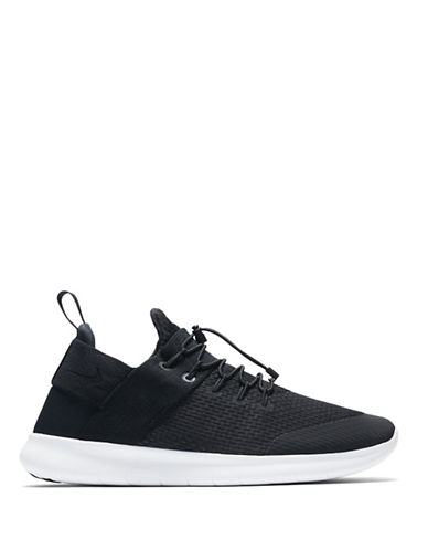 Nike Free RN 2017 Running Shoes-BLACK-10.5