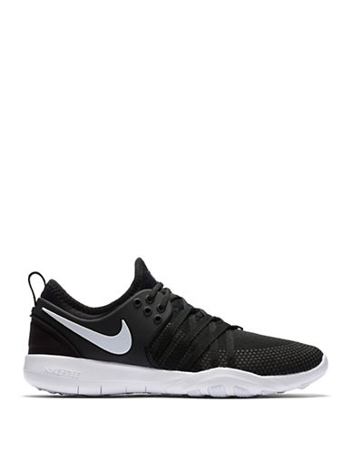 Nike Womens Free Mesh Training Sneakers-BLACK-5