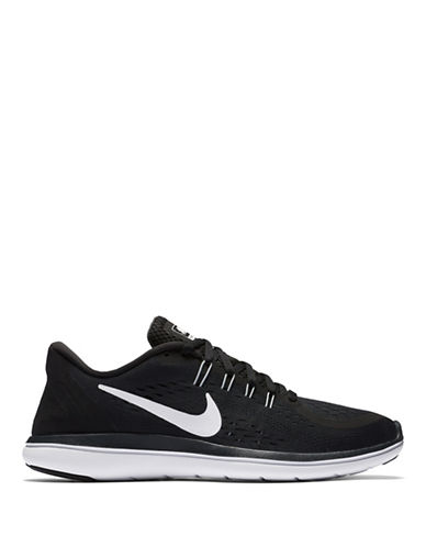 Nike Womens Natural Motion Mesh Running Sneakers-BLACK-6.5