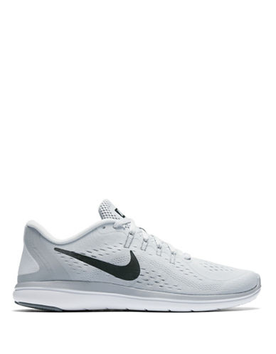 Nike Womens Natural Motion Mesh Running Sneakers-GREY-8.5