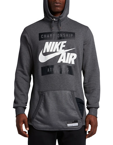 Nike Air French Terry Hoodie-GREY-X-Large 89087417_GREY_X-Large
