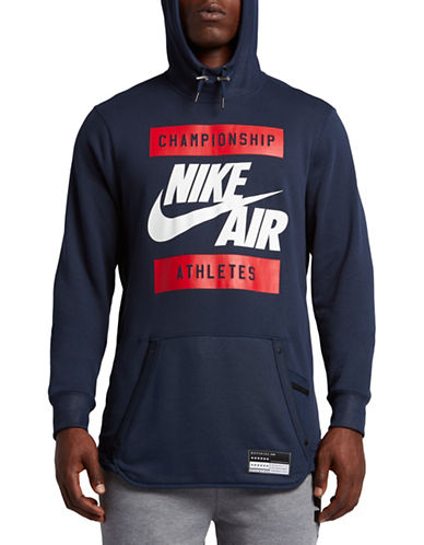 Nike Air French Terry Hoodie-BLUE-Medium 89087420_BLUE_Medium