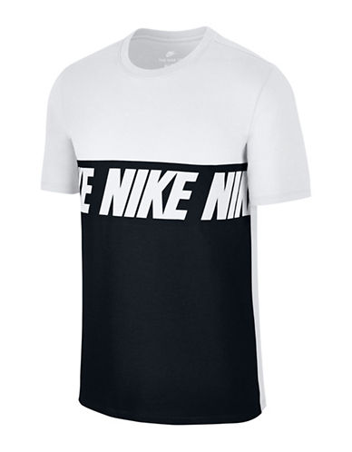 Nike Sportswear Advance Cotton Tee-WHITE-Small 89710011_WHITE_Small