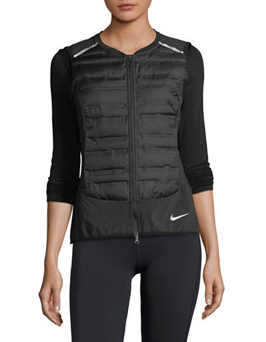 Nike Full-Zip Vest-BLACK-Medium
