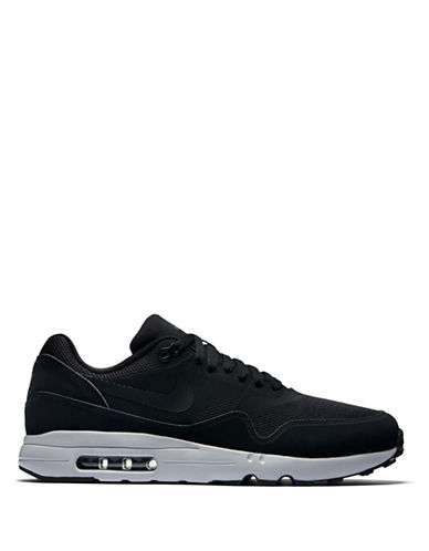 Nike Air Max 1 Ultra 2.0 Essential Sneakers-BLACK/GREY-11.5