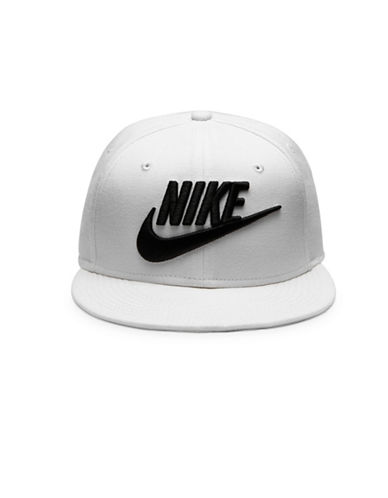 Nike Unisex Wool Baseball Cap-WHITE-One Size