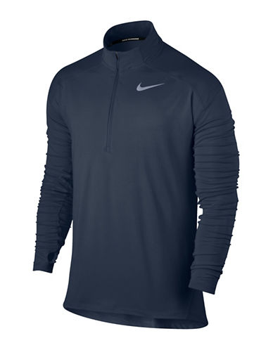 Nike Dry Element Running Top-BLUE-Large