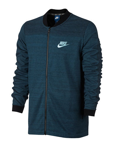Nike Sportswear Advance 15 Bomber Jacket-BLUE-Large