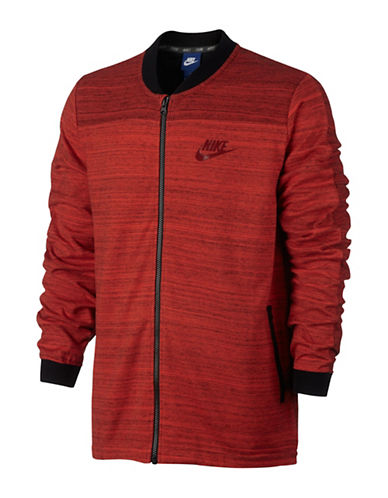 Nike Sportswear Advance 15 Bomber Jacket-ORANGE-XX-Large 88973877_ORANGE_XX-Large