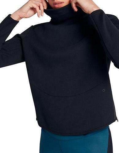 Nike Hi-Lo Training Top-BLACK-Medium