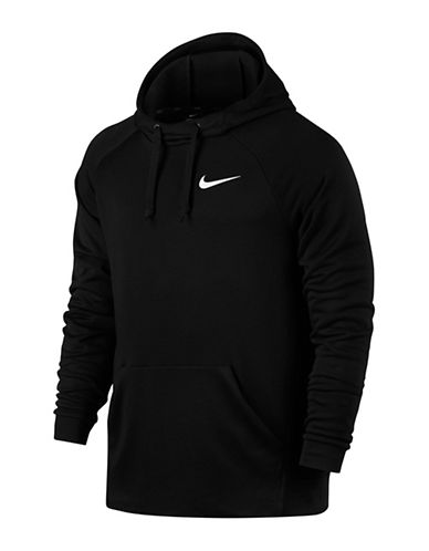 Nike Dry Training Hoodie-BLACK-X-Large