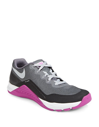 Nike Womens Metcon Repper Low Top Sneakers-GREY-9.5