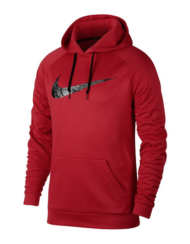 Nike Therma Training Hoodie-RED-Large 89692796_RED_Large