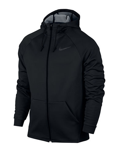 Nike Therma Sphere Training Jacket-BLACK-X-Large
