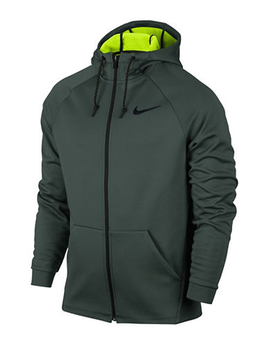 Nike Therma Sphere Training Jacket-GREEN-Large