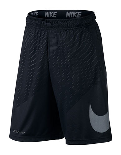Nike Embossed Dry Shorts-BLACK-Medium 89407453_BLACK_Medium