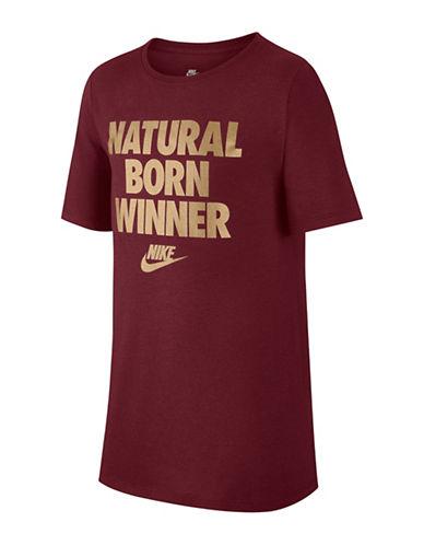 Nike Boy's Statement Cotton Tee-PINK-14-16 89746726_PINK_14-16