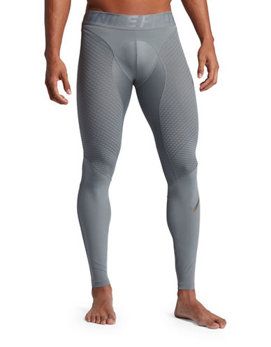 Nike Pro Zonal Strength Tights-GREY-XX-Large