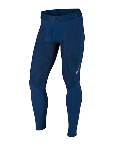 Nike Pro Zonal Strength Tights-BLUE-X-Large