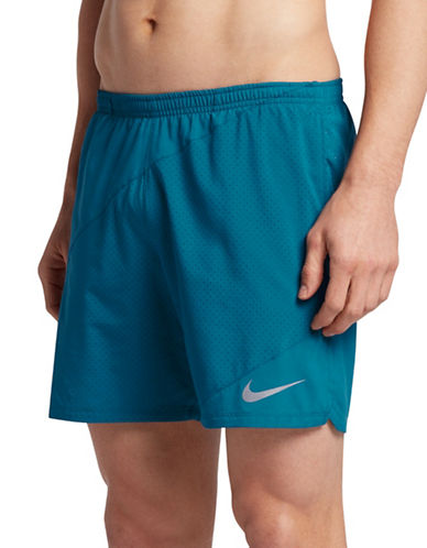 Nike Distance Stretch Shorts-BLUE-X-Large 89157262_BLUE_X-Large