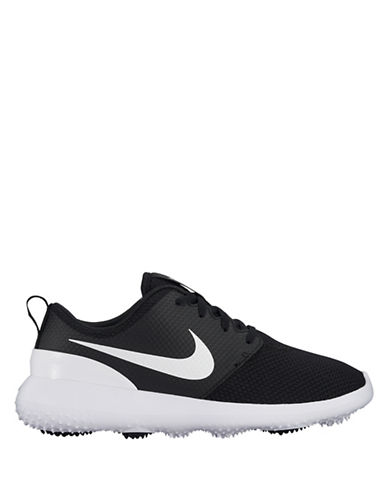 Nike Roshe Golf Sneakers-BLACK/WHITE-6.5