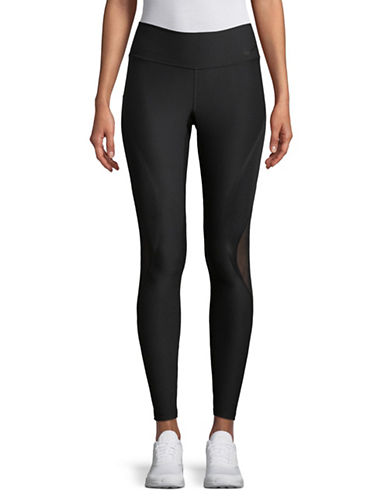 Nike Mesh-Paneled Leggings-BLACK-X-Large 89529543_BLACK_X-Large