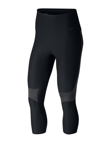 Nike Power Legendary Training Capris-BLACK-X-Large