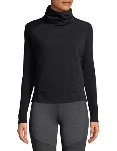 Nike Dry Cowl Neck Vest-BLACK-X-Large