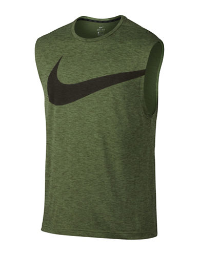 Nike Breathe Training Tank Top-GREEN-Medium 89160304_GREEN_Medium